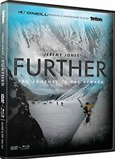 Further DVD Blu Ray Jeremy Jones Snowboard Teton Gravity Research TGR Sports