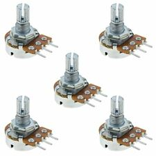 5 x 100K Logarithmique Log cannelé Potentiomètre Pot