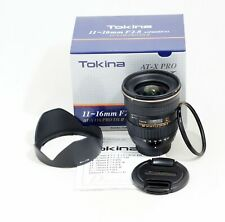 MINT NIKON Tokina AT-X 116 PRO DX-II 11-16mm f/2.8 Zoom Lens D3300 D5300 D7100