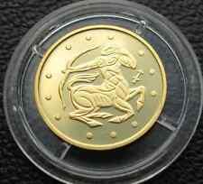 Ukraine 2007 Coin Pure Gold Au 999,9 1/25 Oz Zodiac SAGITTARIUS