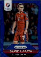 2016 Panini Prizm UEFA Euro '16 Prizms Blue #18 David Lafata /249