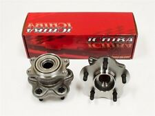 New ICHIBA Front 5 Lug Hub Conversion Kit 240sx S13 DIRECT BOLTON 89-94 NS-20010