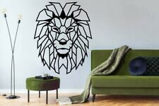 Lion decal Savannah cat Pride King of beasts Wall Vinyl Decal Art Decor Tk2280