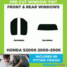 Pre Cut Window Tint - Fits Honda S2000 2000-2006 - Full Kit