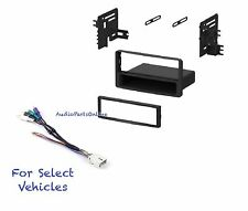Single Din Radio Kit Combo for some Toyota 2003-2004 Sequoia 03-05 Tundra w/Amp
