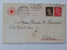 1935. cartolina postale Croce Rossa. in tariffa