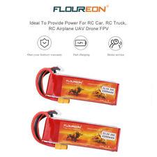 2x 3S 11.1V 2200mAh 25C XT60 Plug LiPo Batterie Akku for RC Auto Flugzeug Drone