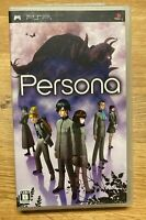 Persona 1 PSP JAPANESE TEXT ONLY Import JP Shin Megami Tensei Japan US Seller