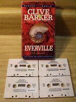 EVERVILLE by Clive Barker ~ Unabridged ~ 4 Cassette Audio Book