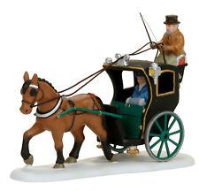Enesco Dep 56 Dickens Village Holiday Cab Ride 4056638 NIB