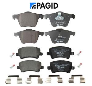Front Brake Pads & Rear Brake Pads OEM Pagid Volvo S60 S80 V60 V70 XC70 (336mm)