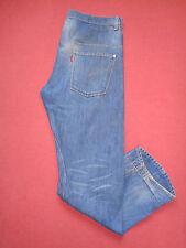 Designer Levis Strauss  Button-Fly - Mens Blue Denim Jeans - W34 L30 - J800*