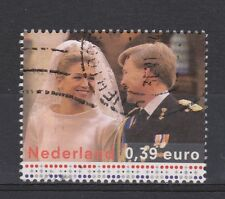 NVPH Netherlands Nederland nr 2274 used Marriage King Willem Maxima 2004 Royalty