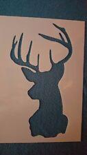 Schablonen 751 Hirsch Vintage Stanzschablone Shabby Stencil Wandtattoos Wandbild