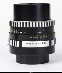 Lens  Zeiss Jena  Flektogon 2,8/35mm Zebra  Macro  TM42 No.9121370