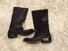 Frye Brown Leather Boots Size 9.5