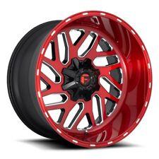 "22 Inch Red Wheels Rims 2011-2020 GMC Sierra Truck 2500 3500 22x10"" 8x180 NEW"