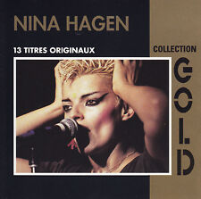 NINA HAGEN - CD - 13 TITRES ORIGINAUX - COLLECTION GOLD