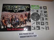 LP Metal Testament - Live in Eindhoven (5 Song) MEGAFORCE / ATLANTIC