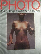 PHOTO MAGAZINE 1972 No 52 BRUNO BARBEY KISHIN SHINOYAMA MIRELLA RICCIARDI RUSSEL