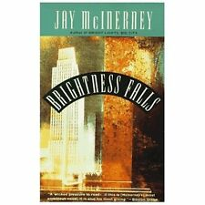 BRIGHTNESS FALLS by Jay McInerney FREE SHIPPING paperback book mc inerney humor