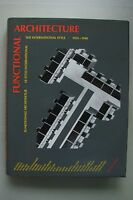 Functional Architecture Funktionale Architektur 1925-1940