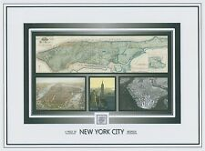 New York City piece of the Bedrock, part of the rock, Manhattan, Nyc, Big Apple