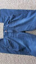 NEW GUESS LINCOLN SLIM STRAIGHT JEANS MENS 34X32 WATCH OUT WASH  FREE SHIP