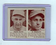 1941 DOUBLE PLAY FRANK HAYES & AL BRANCATO - ATHLETICS