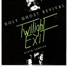 (EL113) Holy Ghost Revival, Twilight Exit sampler - 2007 DJ CD
