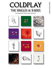 COLDPLAY The Singles & B Sides Piano Guitar Book PVG