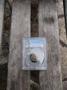 BEAUTIFUL 1865 3 Cent Nickel, PCGS XF45, Rare Luster