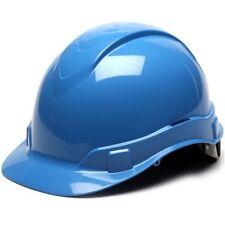 Ridgeline Light Blue Hard Hat 4 Point Ratchet Suspension 21330