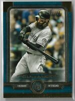 2019 Topps Museum Sapphire Blue Parallel Charlie Blackmon 143/150 Colorado