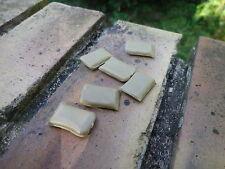 ITALERI ? lot 6 sacs de sable en plastique guerre 39/45 échelle HO 1/76 ou 1/72