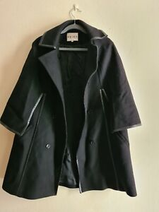 Reiss black coat