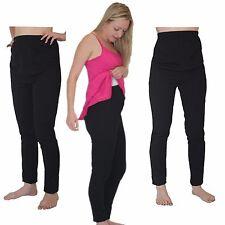 Cesarean High Waist Pyjamas Maternity Feeding Nursing Nightwear Pajamas Sz 10-18