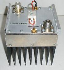 RF / HF Verstärker f. TV Sender Band 4-5 , RF Amplifier Plisch USE 166 Bd. V