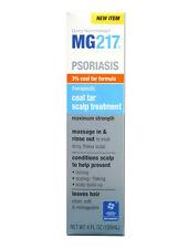 MG217 Psoriasis Therapeutic Coal Tar Scalp Treatment, Maximum Strength