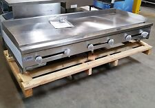 """NEW 72"""" Manual Griddle Flat Top Grill Gas 6' Stratus SMG-72 2897 Commercial NSF"""