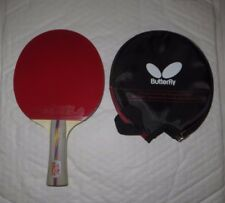 Ping Pong Racket Table Tennis Paddle Bat w. Butterfly Bag Case many more USA