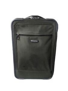 DAKOTA TUMI Rolling Wheeled CARRY ON Bag Suitcase Luggage Travel Green Nylon
