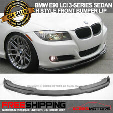 For 09-11 BMW E90 LCI 3-Series Sedan H Style Front Bumper Lip Spoiler PU