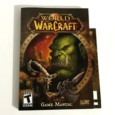 World of Warcraft Game Manual Only Blizzard Entertainment PC