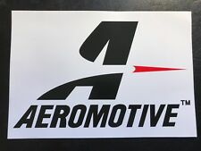 Aeromotive Sticker Decal Serious Fuel Systems Pump Racing Automotive Nascar