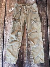 Denim Supply Ralph Lauren Field Cargo Pants Boulder Khaki Light Mens Size 31x32