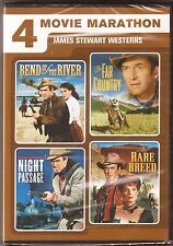 James (Jimmy) Stewart Westerns Collection - DVD 4-Movie Marathon BRAND NEW
