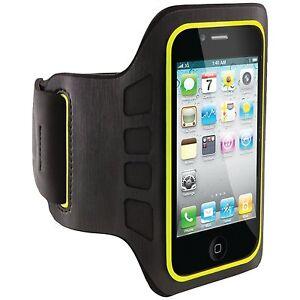 New Belkin Ease-Fit Armband for iPhone 4 4S SE Black Smartphone Exercise Jog J37