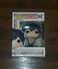 Fairy Tail Funko POP! Animation Gray Fullbuster Vinyl Figure #282 VAULTED