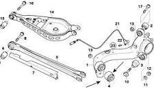 BMW Rear Lower Control Arm Bush Genuine BMW E46 3 Series X83 E83 33326770786